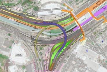 Prefeitura inicia construção de viaduto na região do Shopping da Bahia   Foto: Divulgação