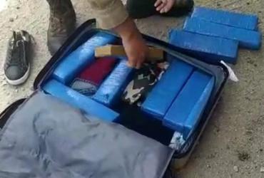 Mulher é presa em flagrante transportando 10 tabletes de maconha em Brumado