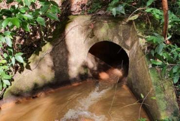 Moradores de Alphaville 1 identificam origem do vazamento de água da lagoa | Cidadão Repórter | Via Whatsapp