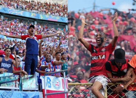 Dupla Ba-Vi se posiciona sobre volta do público aos estádios; ACM Neto é contra decisão   Adilton Venegeroles e Raul Spinassé   Ag. A TARDE