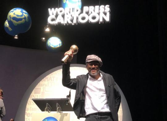 Ilustrador e chargista de A TARDE, Cau Gomez conquista prêmio internacional   Letícia Belém   Divulgação