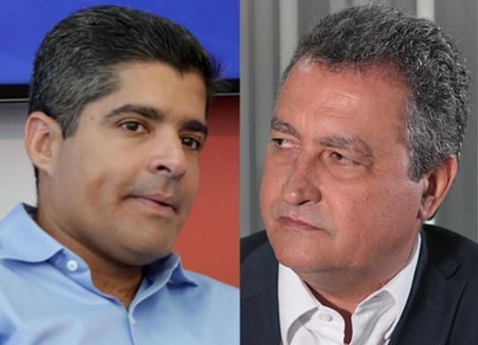 Prefeito ACM Neto e governador Rui Costa têm altas taxas de aprovação | Camila Souza | Gov-BA e Adilton Venegeroles | Ag. A TARDE