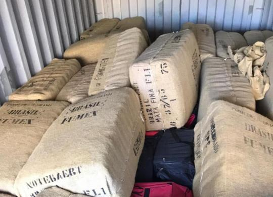 Caminhoneiros são alvos da PF em ação contra o tráfico internacional de drogas | Divulgação | Polícia Federal