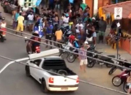 Aglomerações em primeiro dia de campanha eleitoral ligam sinal de alerta | Reprodução | Rede Bahia