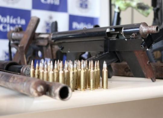 Média de nove armas de fogo foram apreendidas por dia em 2020 | Alberto Maraux