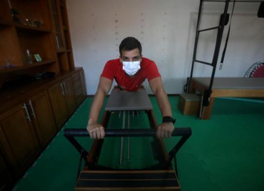 Em casa e no estúdio: pilates online é uma prática que deve permanecer   Felipe Iruatã   Ag. A TARDE