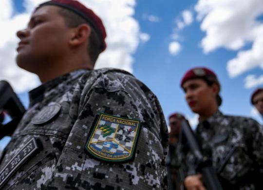 Agentes da Força Nacional deixam municípios no sul do estado | Foto: Marcelo Camargo | Agência Brasil