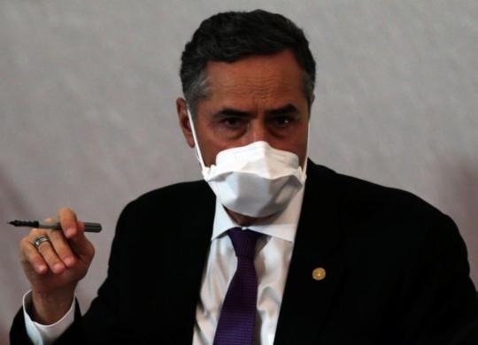 Barroso defende trabalho da imprensa no combate à desinformação | Marcello Casal Jr. | Agência Brasil