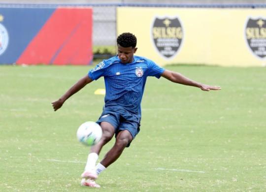 Bahia se reapresenta hoje para iniciar semana de atividades   Felipe Oliveira   EC Bahia