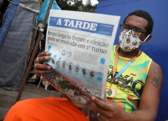 Com pesquisa eleitoral, A TARDE e MASSA! alavancam vendas em mais de 200%   Felipe Iruatã   Ag. A TARDE