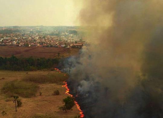 Fumaça das queimadas no Brasil começa a atingir países vizinhos | Mayke Toscano | Secom-MT