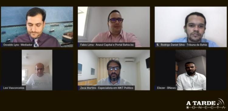 A TARDE Conecta discutiu pesquisa sobre sucessão municipal em Salvador - Foto: Reprodução | YouTube