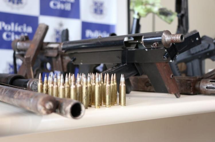 2.253 armas já foram apreendidas este ano pela policia - Foto: Alberto Maraux