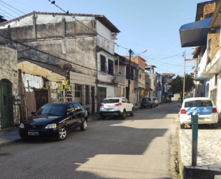 Ação criminosa ocorreu na Rua Santa Luzia | Foto: Reprodução | Arquivo pessoal - Foto: Reprodução