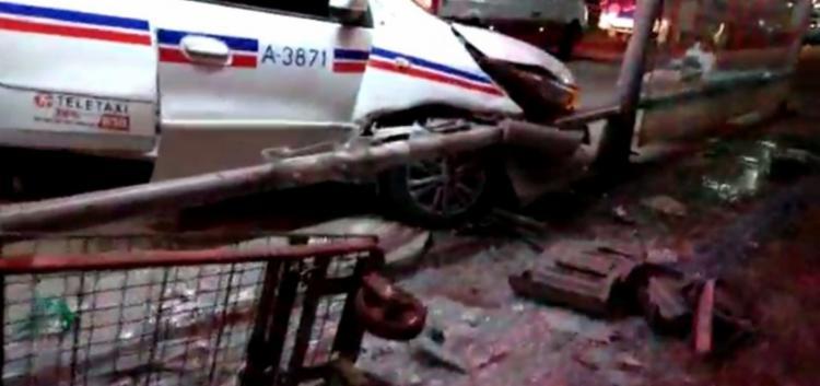 Três vítimas foram feridas sem gravidade e a 4ª foi levada para uma unidade hospitalar| Foto: Reprodução | Redes Sociais - Foto: Foto: Reprodução | Redes Sociais