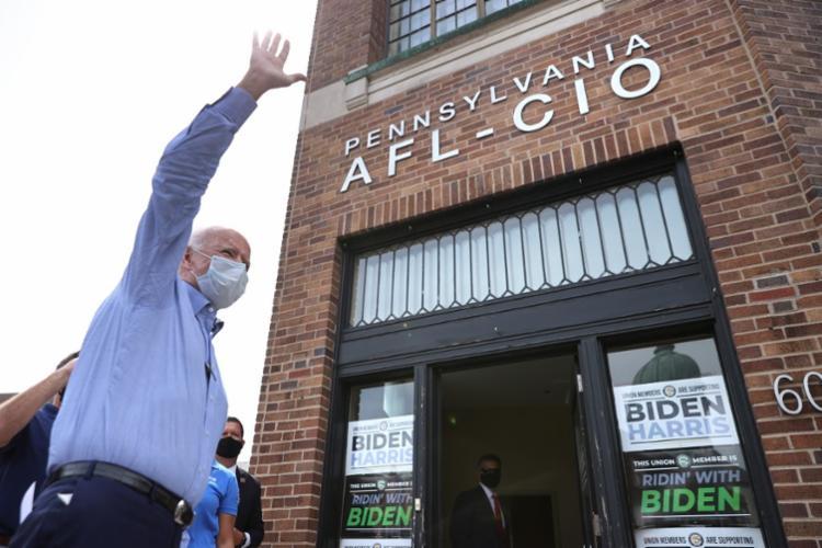 Cerca de 65% dos latinos planejam votar em Biden   Foto: Chip Somodevilla   Getty Images via AFP - Foto: Chip Somodevilla   Getty Images via AFP