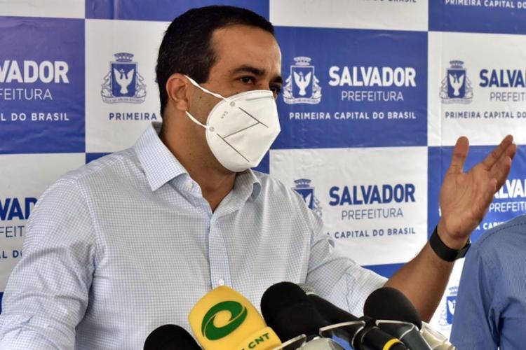 Bruno Reis (DEM) é o nome mais bem posicionado na corrida eleitoral para a prefeitura - Foto: Divulgação | Secom