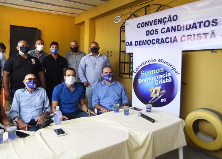 Convenção foi realizada na manhã desta segunda-feira   Foto: Divulgação - Foto: Divulgação