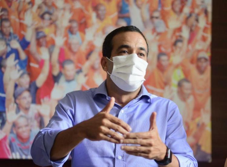 Candidato a prefeito comentou planos para a mobilidade urbana da capital - Foto: Betto Jr   Divulgação