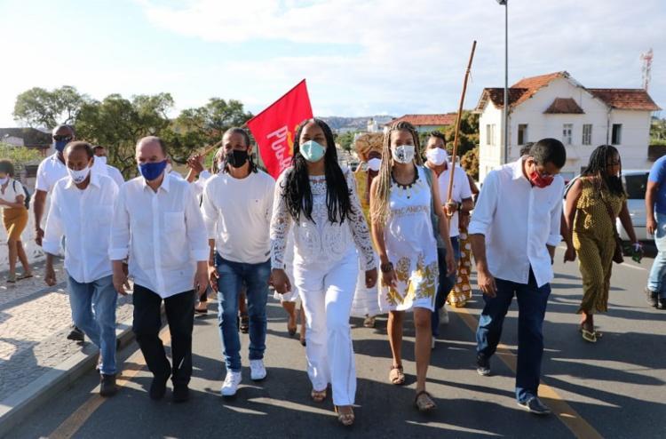 Candidata pretende lutar para acabar com a desigualdade social em Salvador - Foto: Divulgação