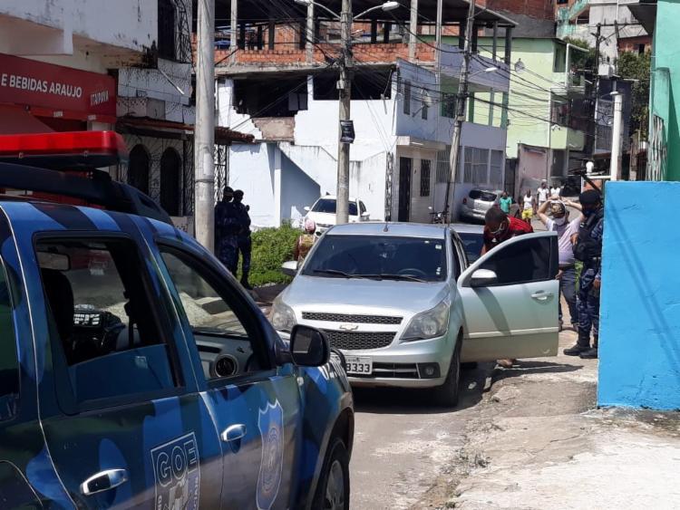 Carro foi encontrado com a utilização do GPS | Foto: Divulgação - Foto: Divulgação
