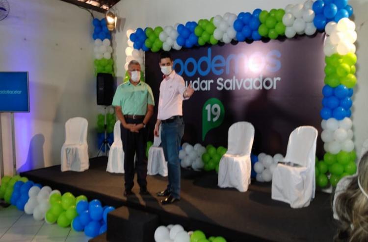 É a primeira vez que Bacelar vai disputar a prefeitura de Salvador - Foto: Rodrigo Tardio