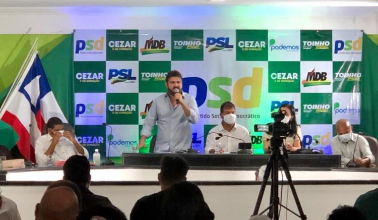 Cézar de Fonfona será candidato pelo PSD | Foto: Divulgação - Foto: Divulgação