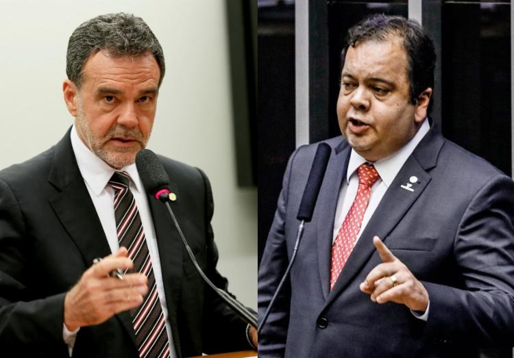 Daniel Almeida e Elmar Nascimento criticam reforma admnistrativa - Foto: Divulgação