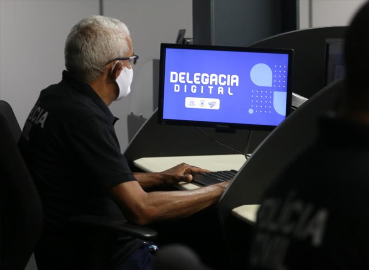 Acesso para ocorrência virtual pode ser realizado através do site da SSP-BA | Foto: Divulgação | SSP - Foto: Divulgação | SSP