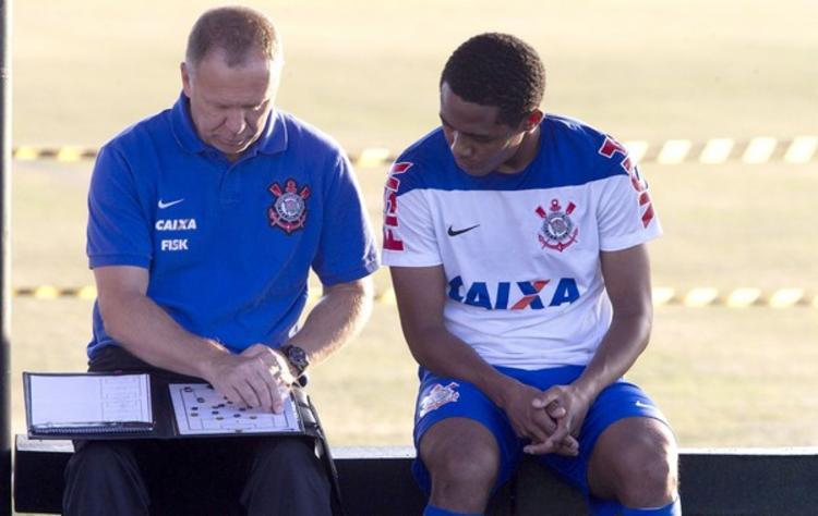 Elias é um dos nomes de confiança do técnico Mano Menezes | Foto: Daniel Augusto Jr | Agência Corinthias - Foto: Daniel Augusto Jr | Agência Corinthias