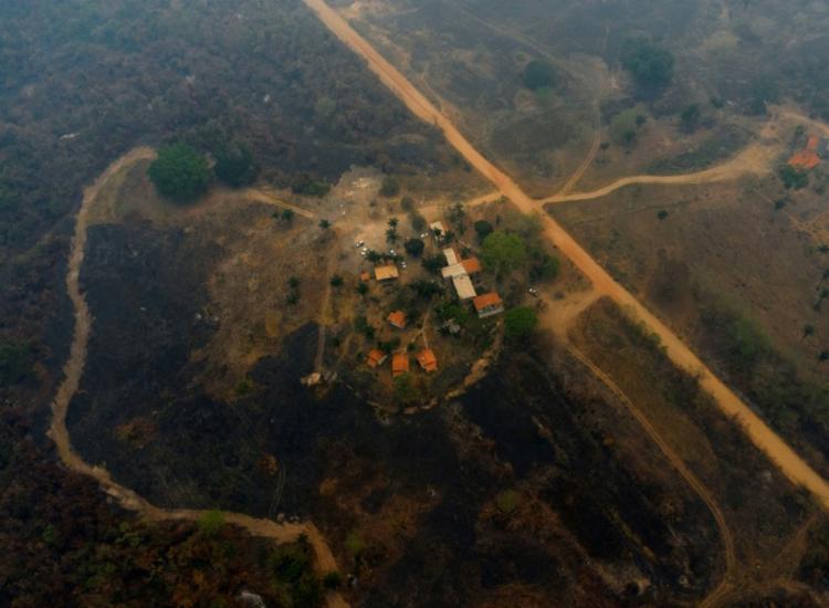 Brasil sofre pressão por economia mais verde, principalmente após queimadas no Pantanal - Foto: AFP
