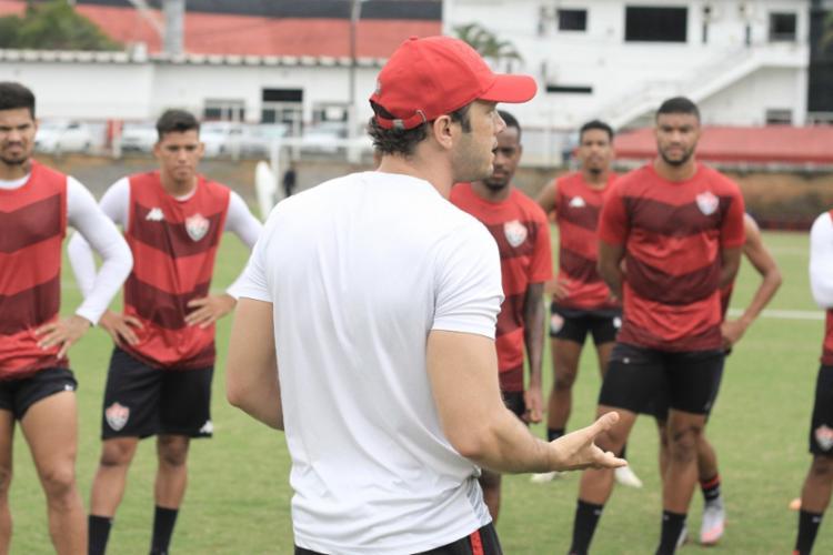 Com exceção de Rafael Carioca e Van, o técnico teve todos os jogadores à disposição | Foto: Letícia Martins | EC Vitória - Foto: Letícia Martins | EC Vitória
