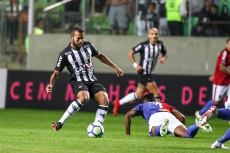 Volante não atua há cerca de seis meses | Foto: Divulgação | Atlético-MG - Foto: Divulgação | Atlético-MG