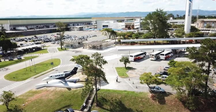 Houve demissão de 900 funcionários da empresa no Brasil | Foto: Divulgação | Embraer - Foto: Foto: Divulgação | Embraer