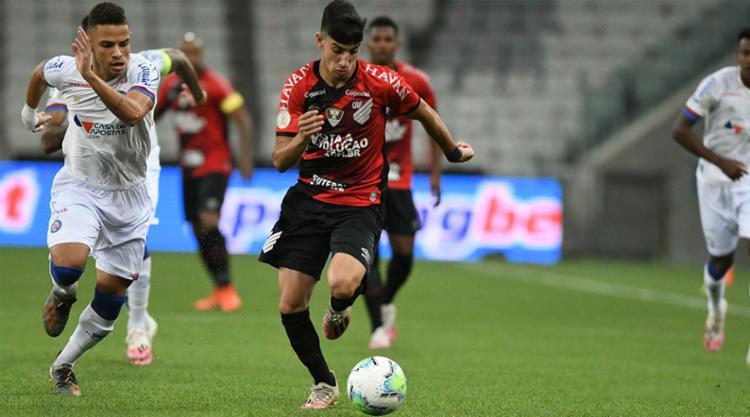 O Bahia atacou pouco durante todo os 90 minutos   Foto: Athletico-PR   Divulgação - Foto: Athletico-PR   Divulgação