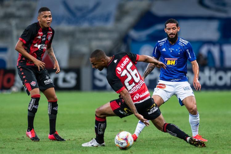 A derrota no Mineirão foi apenas a segunda do time na competição nacional   Foto: Bruno Haddad   Cruzeiro - Foto: Bruno Haddad   Cruzeiro