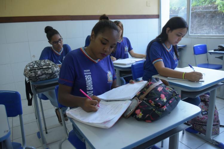 As notas dos estudantes da Bahia foram boas em língua portuguesa e matemática | Foto: Filipe Augusto | Ag. A TARDE | 29.10.2019 - Foto: Filipe Augusto | Ag. A TARDE | 29.10.2019