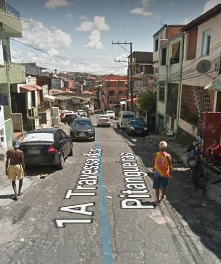 Crime aconteceu na manhã desta quinta-feira | Foto: Reprodução | Google Street View - Foto: Reprodução | Google Street View