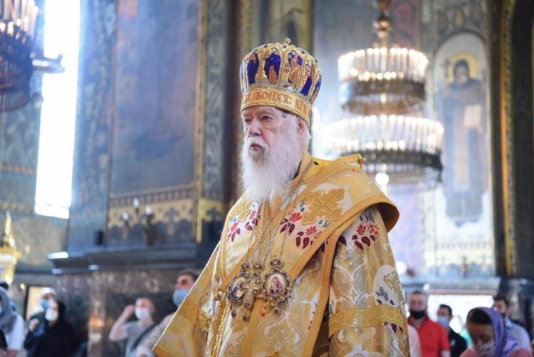 Patriarca Filaret, chefe da Igreja Ortodoxa Ucraniana, revelou diagnóstico positivo para o novo coronavírus | Foto: Reprodução | Facebook - Foto: Foto: Reprodução | Facebook