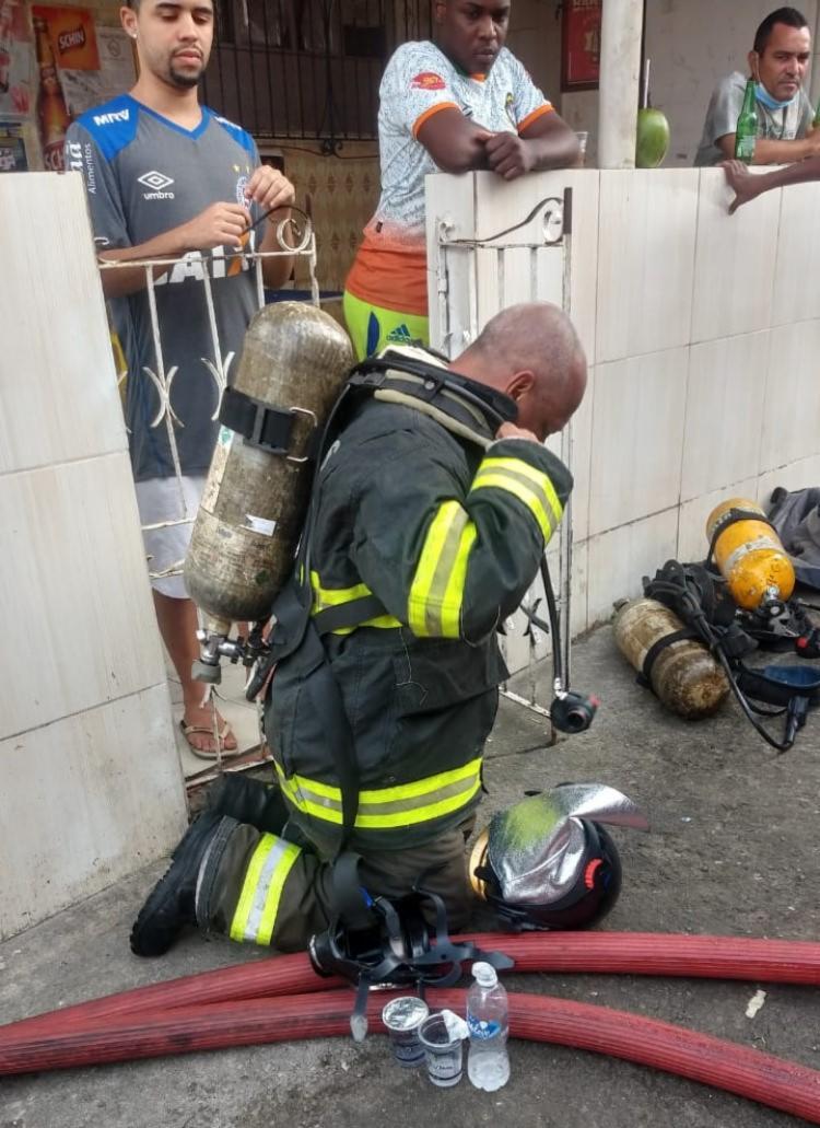 Não houve registros de feridos | Foto: Divulgação | Corpo de Bombeiros - Foto: Divulgação | Corpo de Bombeiros