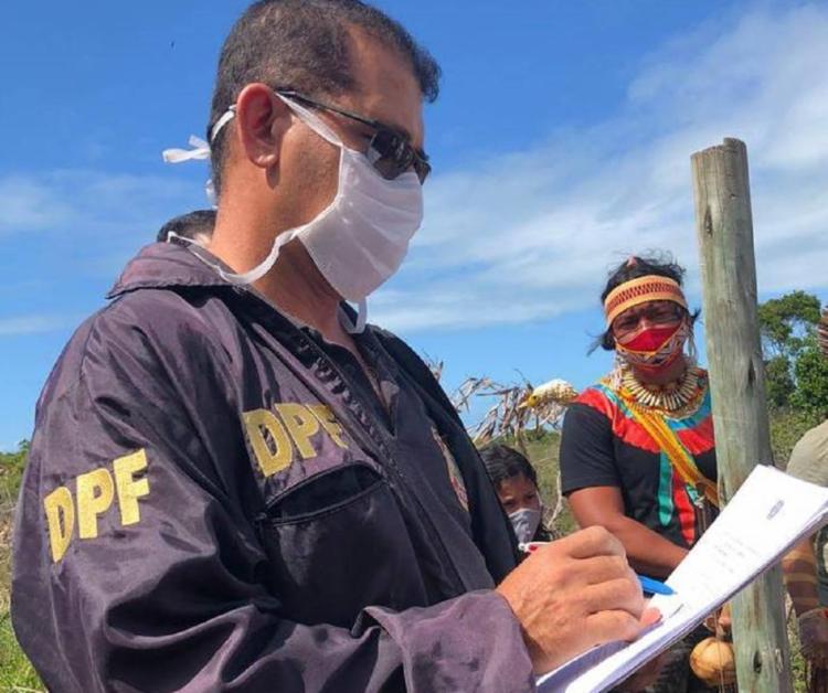 Área é reivindicada na Justiça por um clube de aviação | Foto: Thyara Pataxó - Foto: Thyara Pataxó