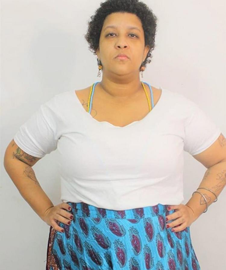 Laina é pré-candidata na candidatura coletiva Pretas Por Salvador