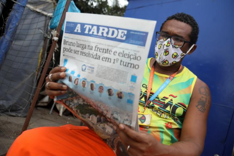 Pesquisa desta quinta foi a primeira realizada na cidade de Salvador após o período das convenções partidárias | Foto: Felipe Iruatã | Ag. A TARDE - Foto: Felipe Iruatã | Ag. A TARDE