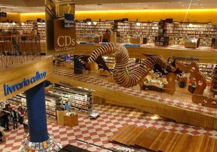 Livraria Cultura encerrou suas atividades em Salvador neste mês de Julho   Foto: Divulgação - Foto: Foto: Divulgação