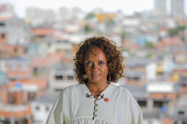 Major Denice Santiago diz ser contrária à desmilitarização da Polícia Militar - Foto: Jonas Santos | Divulgação
