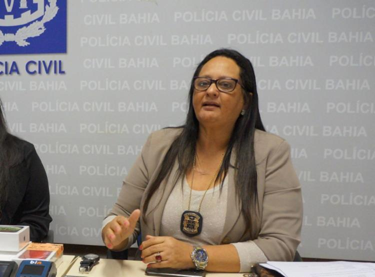 Maria Selma dirigia o Departamento de Crimes Contra o Patrimônio (DCCP) | Foto: Divulgação | SSP - Foto: Divulgação | SSP