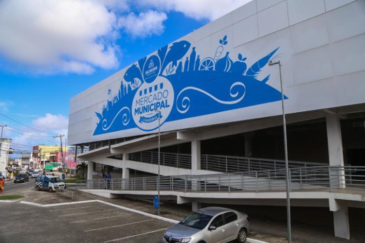 Mercado foi inaugurado originalmente em novembro de 2015 | Foto: Divugação | Prefeitura de Salvador - Foto: Divugação | Prefeitura de Salvador