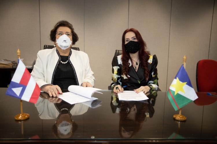 Acordo entre os estados foi assinado na última quarta   Foto: Divulgação - Foto: Divulgação