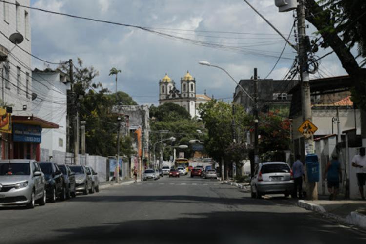 Trânsito foi alterado na região | Foto: Gilberto Júnior | Ag. A TARDE - Foto: Gilberto Júnior | Ag. A TARDE