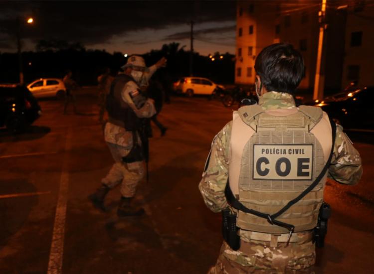 Dos 14 suspeitos, 11 foram presos em bairros de Alagoinhas | Foto: Divulgação | SSP - Foto: Divulgação | SSP